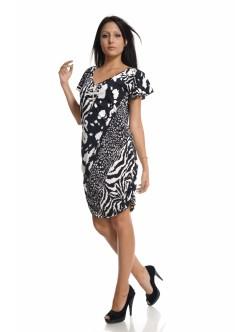 Еластична дамска рокля