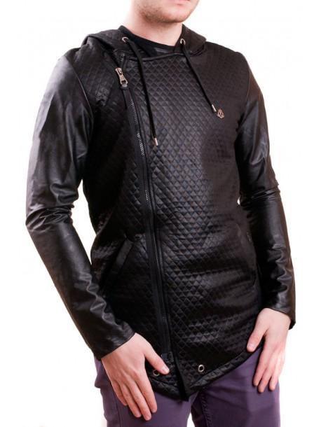 Черно мъжко пролетно яке