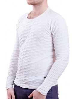 Бяла мъжка блуза Fabregas