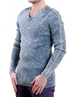Сива мъжка блуза