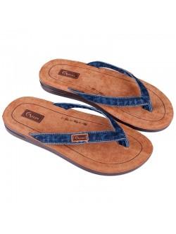 Мъжки дънкови чехли Флекс