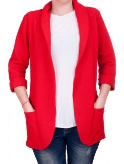 Елегантно червено сако
