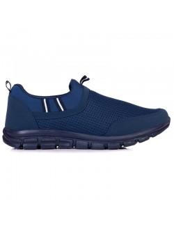 Мъжки маратонки без връзки - сини