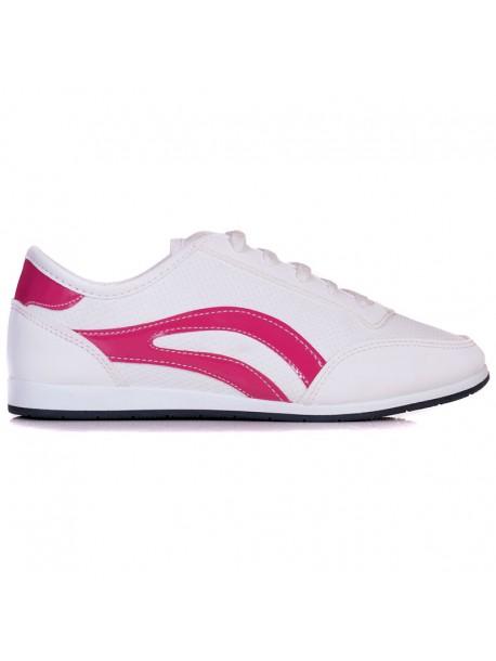 Гуменки в бяло и розово