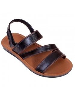 Черни мъжки сандали