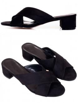 Черни чехли на среден ток