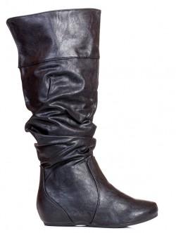 Черни дамски чизми
