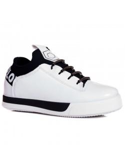 Обувки без връзки - Love white