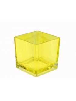 Кашпа за орхидея стъклена 12*12