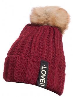 Зимна шапка за дами Love