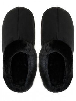 Мъжки пантофи за вкъщи - черни