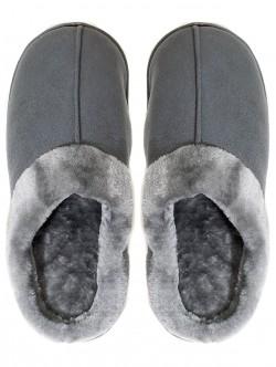 Мъжки пантофи за вкъщи - сиви