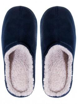 Черни домашни пантофи за мъже