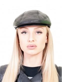 Черен дамски каскет
