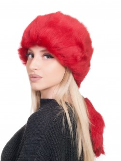 Агнешка шапка - червена