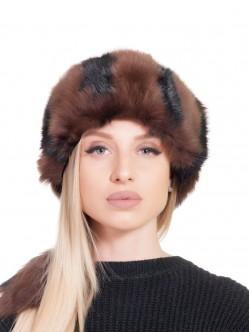 Агнешка шапка - кафява