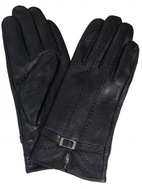 Кожени ръкавици - черни