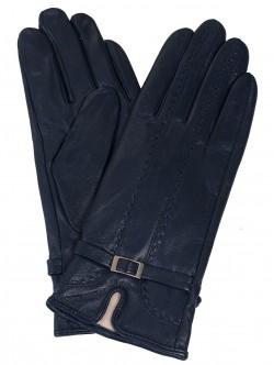 Кожени ръкавици - сини
