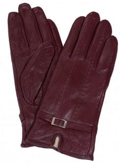 Кожени ръкавици - бордо