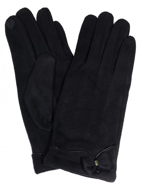Дамски ръкавици - черни