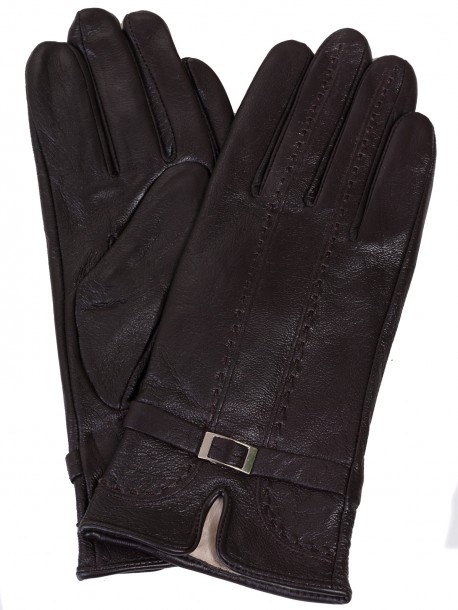 Кожени ръкавици - кафяви