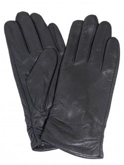 Сиви кожени ръкавици