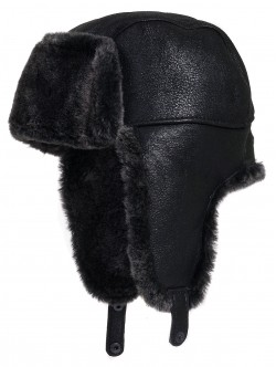 Мъжка кожена шапка