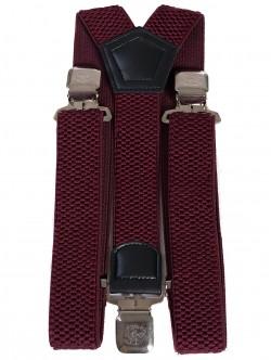 Луксозни тиранти - бордо