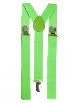 Дамски тиранти - сигнално зелени