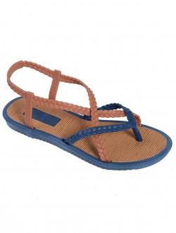 Силиконови сандали - сини