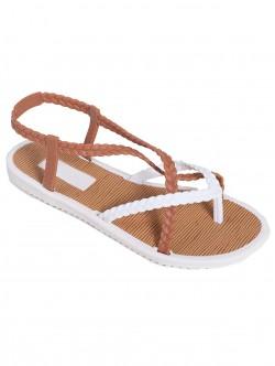 Силиконови сандали - бели