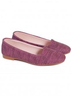 Ниски обувки - бордо