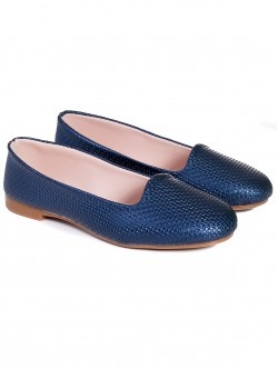 Ниски пантофки - сини