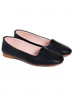 Ниски пантофки - черни