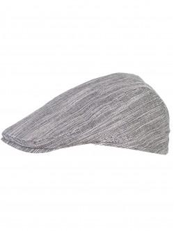 Мъжки памучен каскет - черен