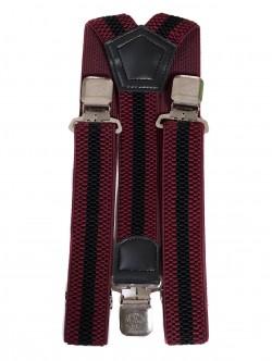 Тиранти - голям размер, цвят бордо