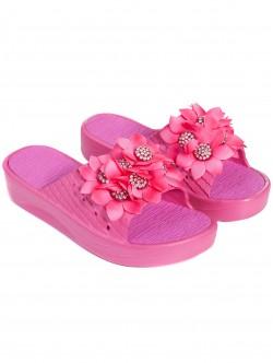 Розови чехли