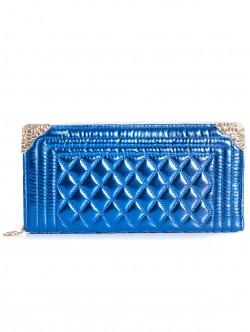 Портмоне чанта - синя