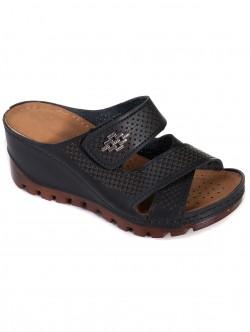 Черни ортопедични чехли