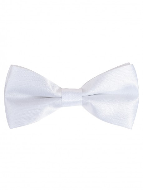 Мини папийонка - бяла