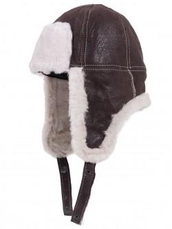 Детска кожена шапка