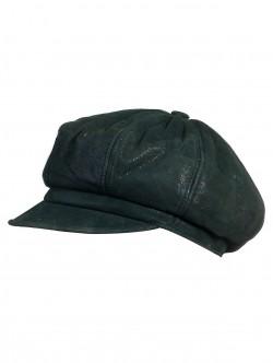 Зелен дамски каскет