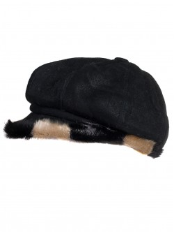Дамски каскет за зимата