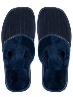 Домашни пантофи за мъже - сини