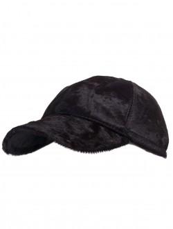 Кафява шапка с козирка - Пони