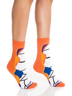 Къси дамски чорапи Ориндж Стрипер