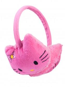 Детски наушници Кити - розови