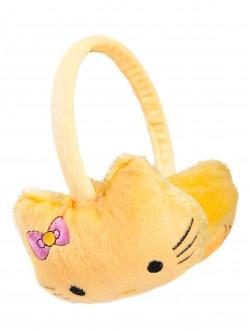 Детски наушници Кити - жълти