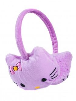 Детски наушници Кити - лилави