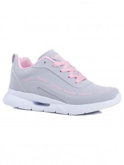 Дамски маратонки Fashion - розови